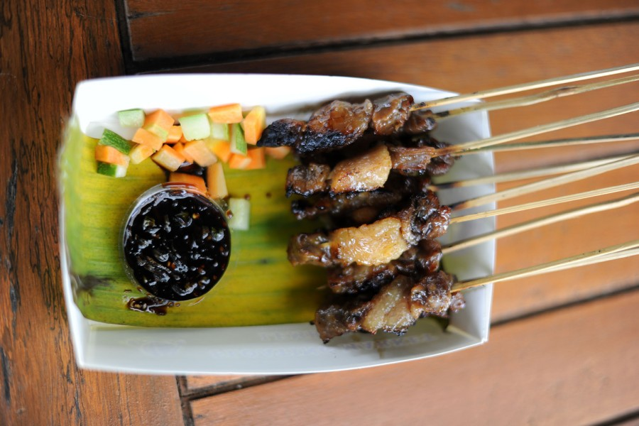 Fatty satay...so delicious